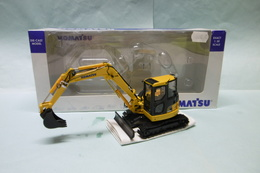 Komatsu / UH - PC 88MR Tracto-pelle Mini-pelle BO 1/50 - Trucks, Buses & Construction