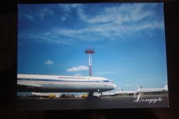 Moscow. Domodedovo AIRPORT ,  IL 62M AIRPLANE Avion Modern PC 2000s - Aerodromes