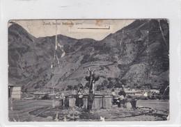 ZUNIL. INDIAS LLEVANDO AGUA. GUATEMALA. HURTER & CO. CIRCULEE 1914 A CHICAGO - BLEUP - Guatemala
