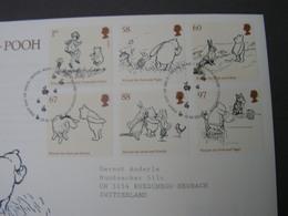 GB FDC 2010 Kinderbuch 3002 - 3007 - FDC