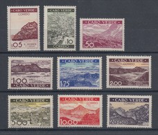 Cabo Verde (Kapverden) Freimarken-Satz Mi.-Nr. 260-268 Komplett **  - Cap Vert