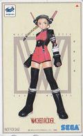 Télécarte Japon / 110-016 - MANGA - SEGA SATURN - WICHEN RÖDER - Japan Phonecard Jeu Video Game - NFS 10191 - Comics