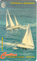 ANTIGUA & BARBUDA(GPT) - Sailing Week 2/2, CN : 239CATB, Tirage %40000, Used - Antigua And Barbuda