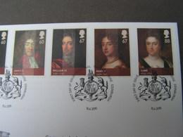 GB FDC 2010   Monarchie 2964 - 2970 - FDC