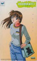 Télécarte Japon / 110-016 - MANGA - SEGA SATURN - ROOMMATE 3 - ANIME Japan Phonecard Jeu Video Game - NFS 10193 - Comics