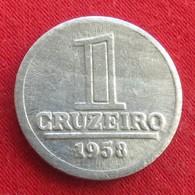 Brazil 1 Cruzeiro 1958 KM# 570  Brasil Bresil Brasile - Brésil