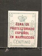 Marruecos Español - Edifil 74 - Yvert 85 (MH/*) - Marruecos Español