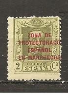 Marruecos Español - Edifil 81 - Yvert 95 (MH/*) - Marruecos Español