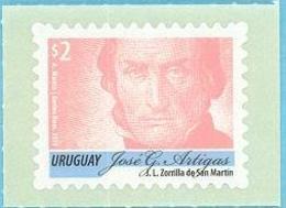 Uruguay 2019 ** Serie Permanente  Artigas 2p. ROSA VIEJO. - Historia