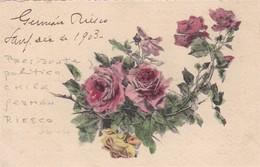 GERMAN RIESCO, PRESIDENTE DE CHILE, AUTOGRAPH SUR CARTE POSTALE - BLEUP - Autographs