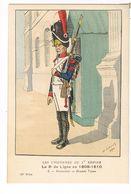 Uniforme.1er Empire. 3e De Ligne.Grenadier. 1809/10.Illustrateur. LAVAL. (t.u.68 ) - Uniforms