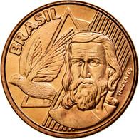 Monnaie, Brésil, 5 Centavos, 2007, SUP, Copper Plated Steel, KM:648 - Brésil