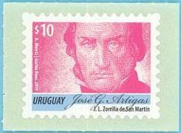 Uruguay 2019 ** Serie Permanente  Artigas 10p. MAGENTA. - Historia