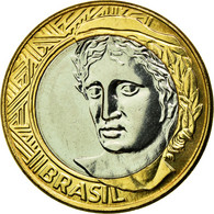 Monnaie, Brésil, Real, 2008, Rio De Janeiro, SPL, Bi-Metallic, KM:652a - Brésil
