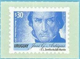 Uruguay 2019 ** Serie Permanente  Artigas 30p. AZUL. - Historia