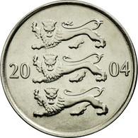 Monnaie, Estonia, 20 Senti, 2004, No Mint, SPL, Nickel Plated Steel, KM:23a - Estonie