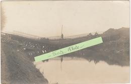 SOLRE-SUR-SAMBRE. Prés De Hantes-Wihéries Et Erquelinnes. Destruction Pont Du Train. Occupation Allemande. Voir 2 Scans - Belgium