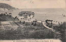***  PAIS VASCO  *** FUENTERRABIA   Villa De La Playa El Cabo Higuero Timbrée TTb - Spain