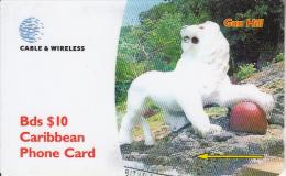 BARBADOS ISL.(GPT) - Gun Hill, CN : 263CBDF, Tirage 30000, Used - Barbados