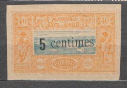French Somali Coast 1902 Yvert#28 Mint Hinged - Unused Stamps