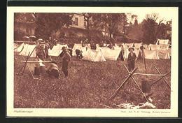 AK Blick Ins Pfadfinderlager - Scoutisme
