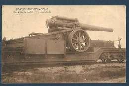 Armée Belge - Braschaet-Polygone - Train Blindé - Gepantserde Trein - Matériel