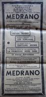 CIRQUE : Placard Publicitaire CIRQUE MÉDRANO Dans MARSEILLE-MATIN Du 22 Avril 1937 (Athlète JULES LADOUMÈGUE Au Cirque) - Autres