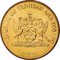 Monnaie, TRINIDAD & TOBAGO, Cent, 2005, Franklin Mint, SPL, Bronze, KM:29 - Trinité & Tobago