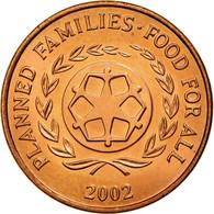 Monnaie, Tonga, King Taufa'ahau Tupou IV, 2 Seniti, 2002, SPL, Copper Plated - Tonga