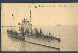 Marine Belge - Torpilleur De 250 Tonnes - Retour De Manoeuvres - Matériel