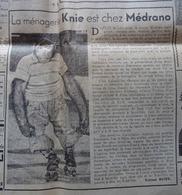 CIRQUE Article Publicitaire LA MÉNAGERIE KNIE AU CIRQUE MÉDRANO Dans L'HUMANITÉ-DIMANCHE Du 06 Novembre 1949 - Journaux - Quotidiens