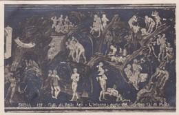 SIENA. GALL DI BELLE ARTI, L'INTERNO, PARTE DEL GRADIANO  G DI PAOLA. A.TRALDI. ITALIA. CIRCA 1910s - BLEUP - Schilderijen, Gebrandschilderd Glas En Beeldjes