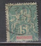 MARTINIQUE Scott # 37 Used - Used Stamps