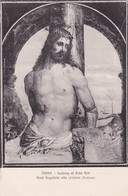 SIENA. GALLERIA DI BELLE ARTI. GESU FLAGELLATO ALLA COLONNA. CARTOLERIA NAVA. ITALIA. CIRCA 1910s - BLEUP - Schilderijen, Gebrandschilderd Glas En Beeldjes