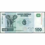 TWN - CONGO DEM. REP. 92 - 100 Francs 4.1.2000 M-X (G&D) UNC - Congo