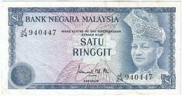 Malasia - Malaysia 1 Ringgit 1976 Pick 13a Ref 1 - Malaysie