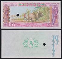 Guinea 50 Francs 1985 AUNC Proof - Guinée