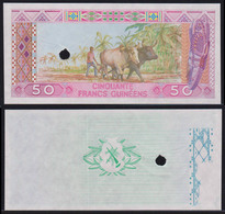Guinea 50 Francs 1985 AUNC Proof - Guinea