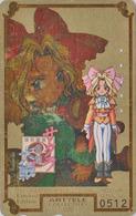 Télécarte DOREE Japon / 110-011 - MANGA - SEGA SAKURA WARS - ARTTELE COLLECTION Nr 0512 - Japan GOLD Phonecard - 10200 - Comics