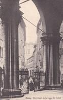 SIENA. VIA TRIESTE DALLE LOGGE DEI NOBILI. DITTA MARIOTTI ULISSE. CIRCA 1910s - BLEUP - Siena