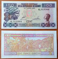 Guinea 100 Francs 1998 UNC - Guinée