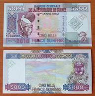 Guinea 5000 Francs 2010 Commemorative UNC - Guinée