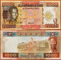Guinea 1000 Francs 2010 UNC- 50 Years - Guinea