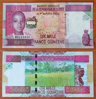 Guinea 10000 Francs 2012 UNC - Guinée
