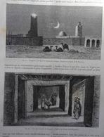 ALGÉRIE: EXCURSIONS À L'OUED RIR' Dans LA NATURE Du 09 Et 23 Juin 1888 - Sciences