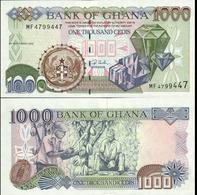 Ghana 1000 Cedis 2002 UNC Р-32h - Ghana