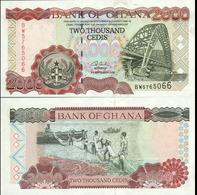 Ghana 2000 Cedis 2002 UNC Р-33g - Ghana