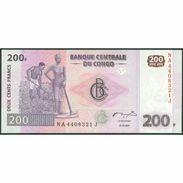 TWN - CONGO DEM. REP. 99a - 200 Francs 31.7.2007 NA-J (G&D) UNC - Congo