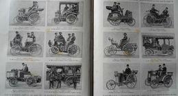 AUTOMOBILES: LES VOITURES LAURÉATES DU CONCOURS DU PETIT JOURNAL Dans LA NATURE Du 25 Août 1894 - Scienza