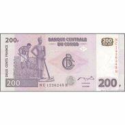 TWN - CONGO DEM. REP. 99A - 200 Francs 31.7.2007 NC-H (HdM) UNC - Congo